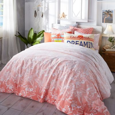 Buy Coral Colored Comforter Set From Bed Bath Beyond - Coral colored comforter set for queen bed