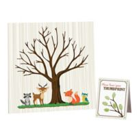 Lillian Rose™ Woodland Baby Shower Guest Signing Canvas