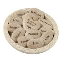 Lillian Rose™ Vow Stones with Plate (Set of 13)
