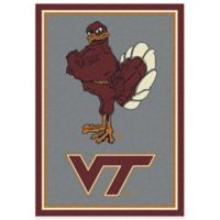 Virginia Tech 2-Foot 8-Inch x 3-Foot 10-Inch Extra Small Spirit Rug