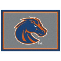 Boise State University 3-Foot 10-Inch x 5-Foot 4-Inch Small Spirit Rug