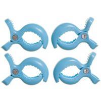 Dreambaby® Strollerbuddy® Stroller Blanket Clips in Blue (Set of 4)