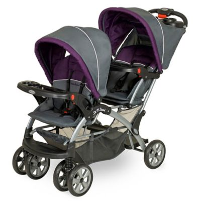 strollers baby trend sit n stand double stroller in elixer - Double Stroller Frame
