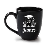Graduation Bistro Mug in Black