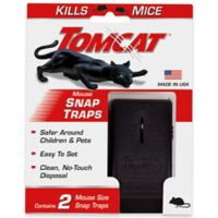 Tomcat® 2-Pack Mouse Snap Traps