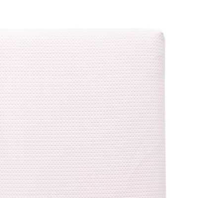 furniture u003e lullaby earth breeze breathable 2stage crib mattress in pink