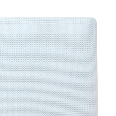 furniture u003e lullaby earth breeze breathable 2stage crib mattress in blue