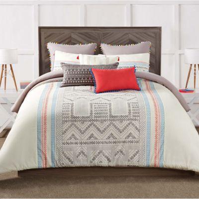 antik batik margo fullqueen reversible comforter set - Queen Down Comforter