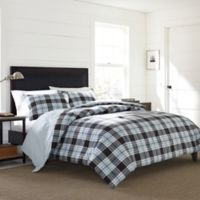Eddie Bauer® Lewis Plaid King Comforter Set in Navy