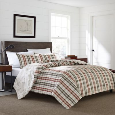 buy plaid full bedding from bed bath & beyond