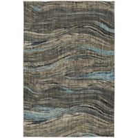 Muse Amos 5-Foot 3-Inch x 7-Foot 10-Inch Area Rug in Lagoon