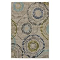 Muse Bacchus 5-Foot 3-Inch x 7-Foot 10-Inch Area Rug in Lagoon