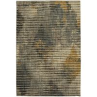 Muse Wire Frame 9-Foot 6-Inch x 12-Foot 11-Inch Area Rug in Mustard