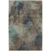Muse Wire Frame 9-Foot 6-Inch x 12-Foot 11-Inch Area Rug in Lagoon