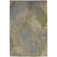 Muse Wire Frame 9-Foot 6-Inch x 12-Foot 11-Inch Area Rug in Celery