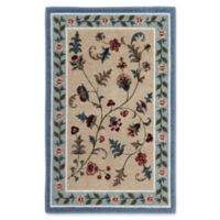 Farrah 2-Foot 6-Inch x 3-Foot 10-Inch Accent Rug in Slate Blue