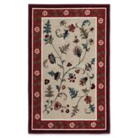 Farrah 2-Foot 6-Inch x 3-Foot 10-Inch Accent Rug in Rich Red