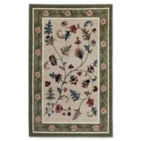 Farrah 2-Foot 6-Inch x 3-Foot 10-Inch Accent Rug in Celery