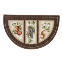 Eden's Bounty 1-Foot 7-Inch x 2-Foot 8-Inch Accent Rug in Chocolate
