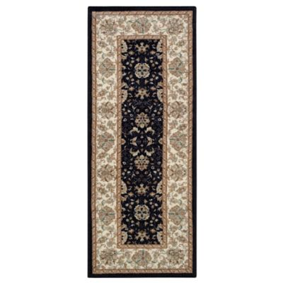 Amani 1 Foot 8 Inch X 5 Foot Accent Rug In Black