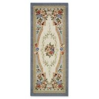 Nevaeh Floral 1-Foot 10-Inch x 5-Foot Area Rug in Lapis