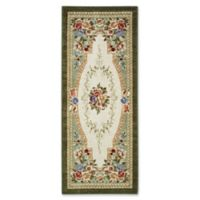 Nevaeh Floral 1-Foot 10-Inch x 5-Foot Area Rug in Emerald