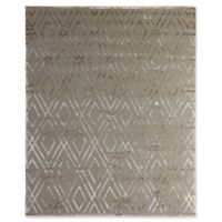 Exquisite Rugs Metro Velvet 6-Foot x 9-Foot Area Rug in Light Beige
