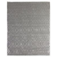 Exquisite Rugs Metro Velvet 6-Foot x 9-Foot Area Rug in Platinum