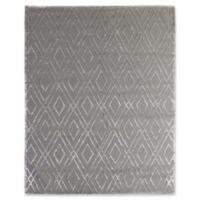 Exquisite Rugs Metro Velvet 8-Foot x 10-Foot Area Rug in Platinum