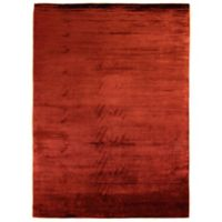 Plain Dove 4-Foot x 6-Foot Area Rug in Red