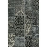 Capel Rugs Celestial Patchwork 9-Foot x 12-Foot Area Rug in Grey