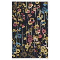 Capel Rugs Branch Floral 5-Foot x 8-Foot Area Rug in Blue