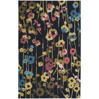 Capel Rugs Branch Floral 8-Foot x 11-Foot Area Rug in Blue