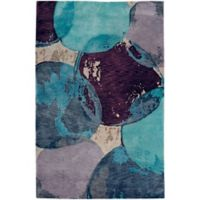 Capel Rugs Specter Mirage 7-Foot x 9-Foot Area Rug in Blue