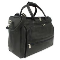Piel Leather® 17-Inch Classic Computer Carry-All Bag in Black