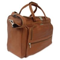 Piel Leather® 17-Inch Classic Computer Carry-All Bag in Saddle