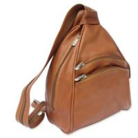 Piel® Leather 2-Pocket Sling in Saddle