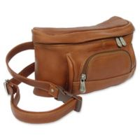 Piel® Leather Classic 10-Inch Carry-All Waist Bag in Saddle