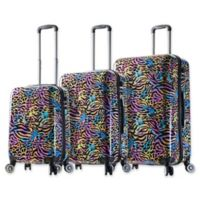 Mia Viaggi Pop Animal 3-Piece Hardside Spinner Set
