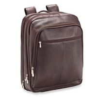 Piel® Leather 17-Inch X-Large Laptop Case Travel Backpack in Chocolate