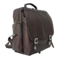 Piel® Leather 15-Inch Vertical Laptop Backpack in Chocolate