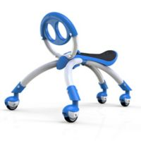 YBIKE Pewi Elite Walking Buddy Ride-On in Blue