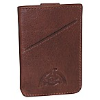 Dopp® Carson RFID Pull-Tab Cash and Carry Leather Card Case in Brown
