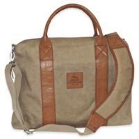 Buxton Expedition II Huntington Gear Laptop Briefcase in Tan