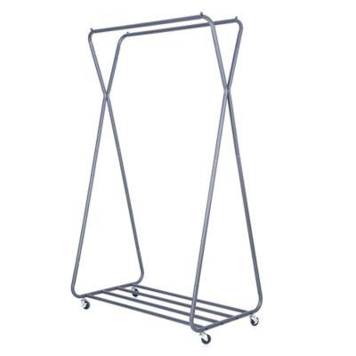 easy home double hanging garment rack