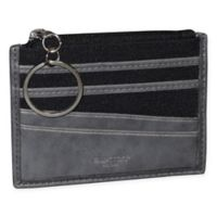 Buxton® 1867 RFID ID/Coin Wallet in Grey