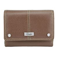 Buxton Westcott Wallet in Tan