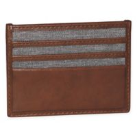 Buxton® 1867 RFID Front Pocket Card Holder in Tan