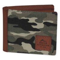 Buxton® Huntington Gear RFID Slimfold Passport Wallet in Camo