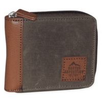 Buxton Huntington Gear RFID Wallet in Saddle